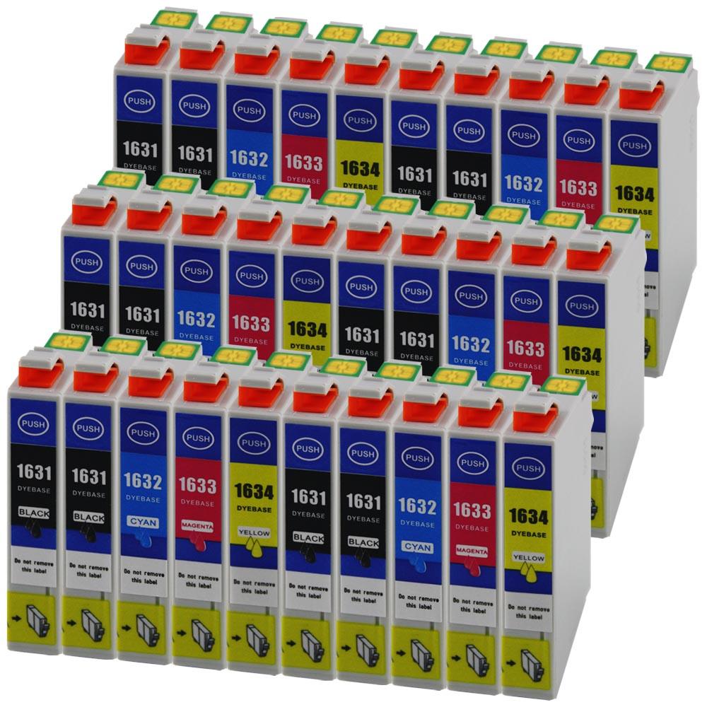 30xxl cartouches d 39 encre imprimante pour epson wf2510wf. Black Bedroom Furniture Sets. Home Design Ideas