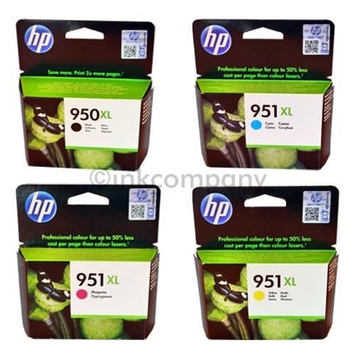 4 hp 950xl 951xl original drucker patronen tinte officejet 8100 8600 8610 8620 ebay. Black Bedroom Furniture Sets. Home Design Ideas