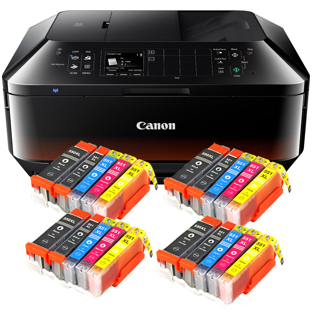 canon pixma mx925 drucker scanner kopierer fax wlan 20x xl set tinte neu ebay. Black Bedroom Furniture Sets. Home Design Ideas